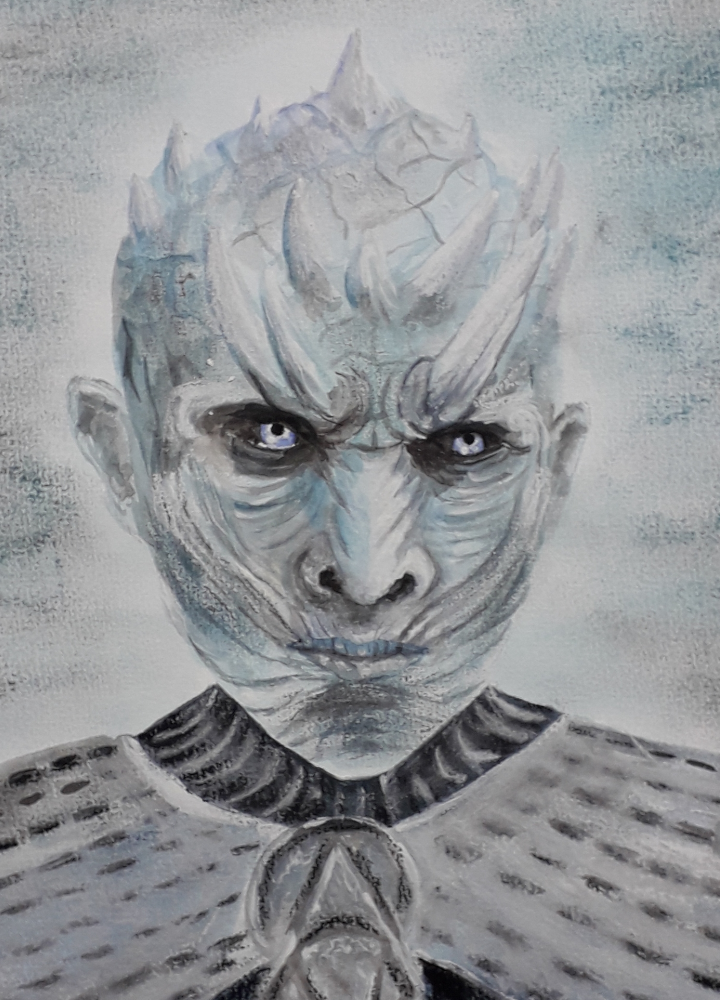 Game of Thrones Nachtkönig Nightking Fanart Porträt